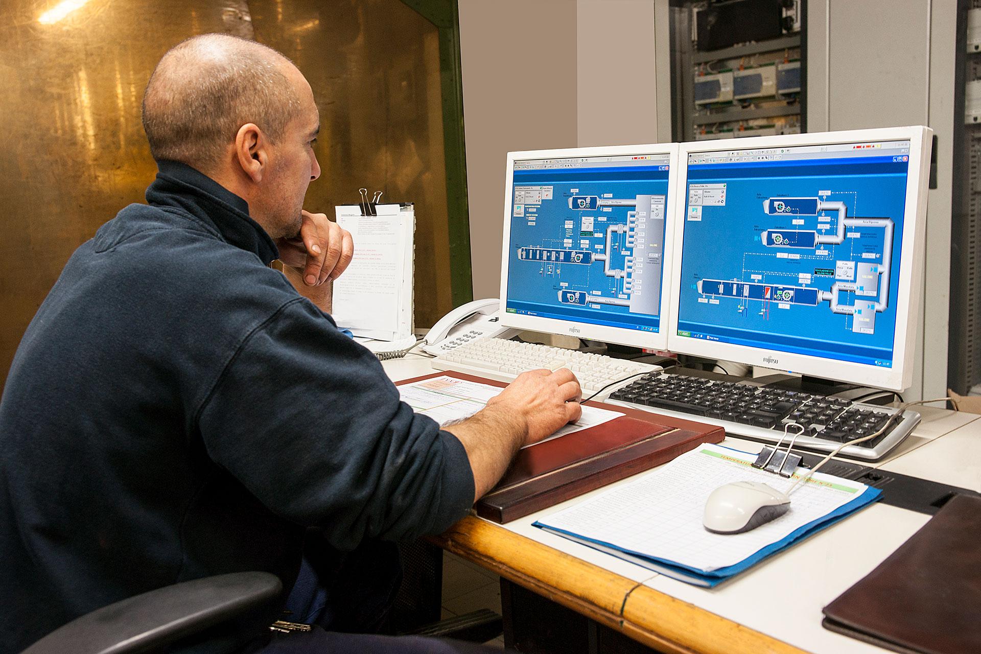 sistema di telegestione impianti